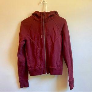 Lululemon red athletic jacket size 6